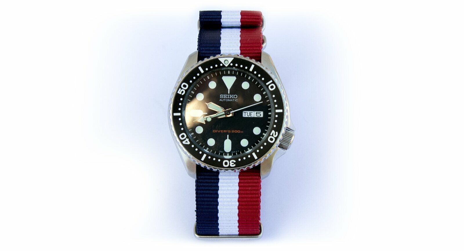French Flag Watch Strap 22mm