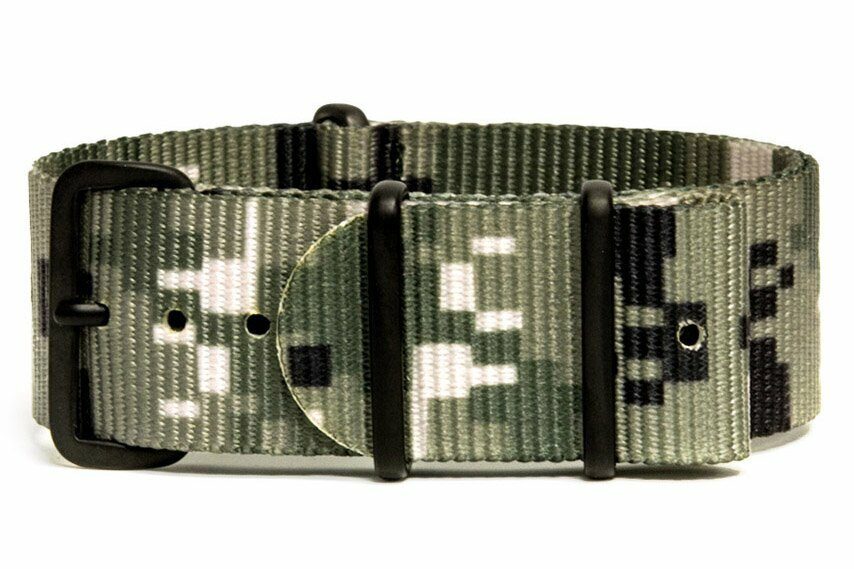 3 Pack - Camo/Military Watch Straps - 20mm