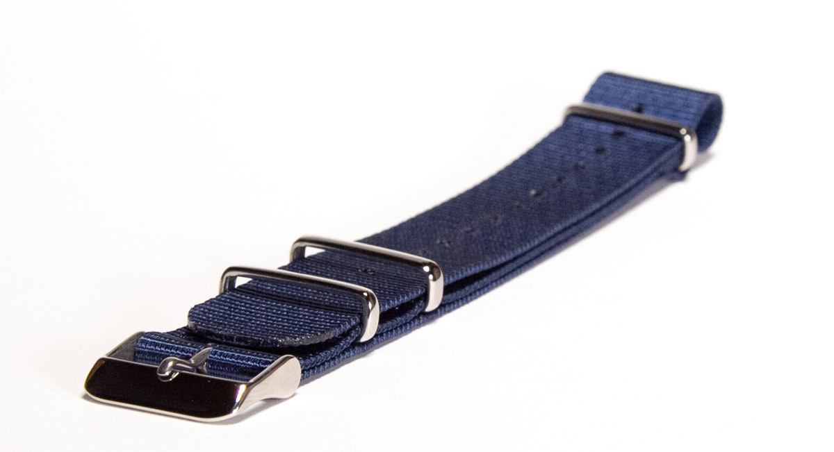NATO Strap Solid Navy 20mm