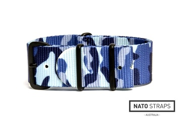 Arctic Blue watch strap
