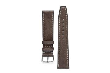 Rios1931 HAVANA Genuine Pigskin Leather Watch Strap in MOCHA