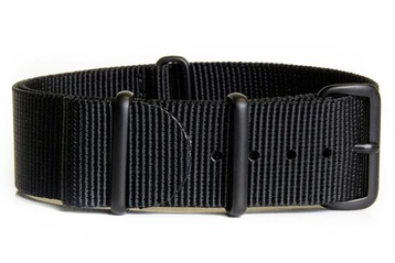 Black watch strap (with black PVD buckles)