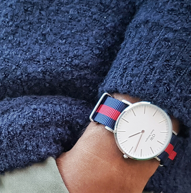 Our watch straps are compatible with all Daniel Wellington Watches!