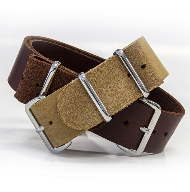 Put your best hand forward with a premium leather watch strap