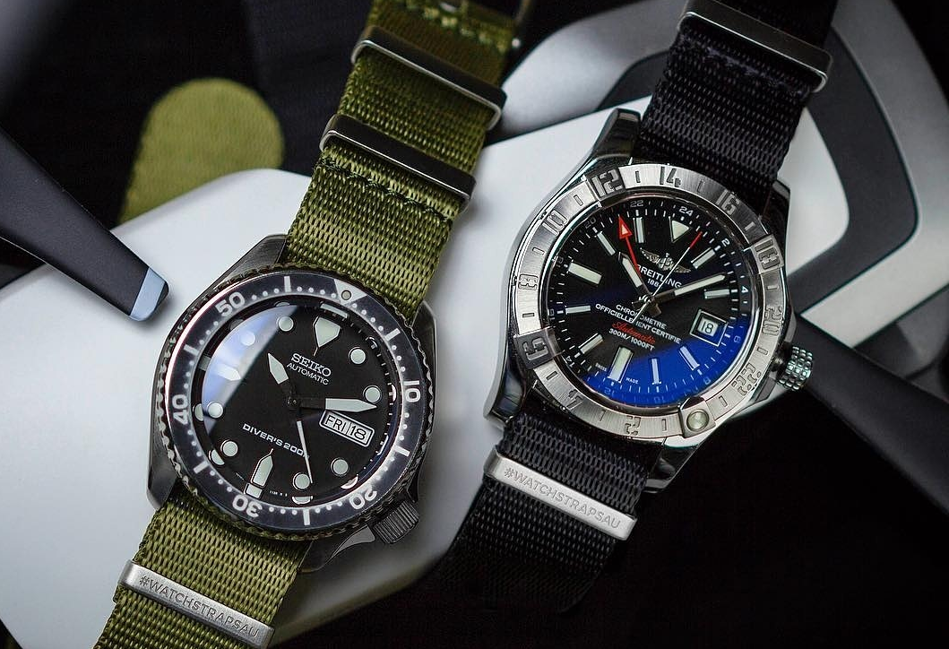 Replacement watch straps for your Seiko